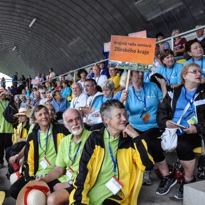 Międzynarodowe gry sportowe dla seniorów w Pilznie
