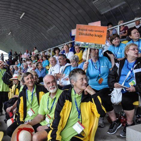 International sports games of seniors in Pilsen