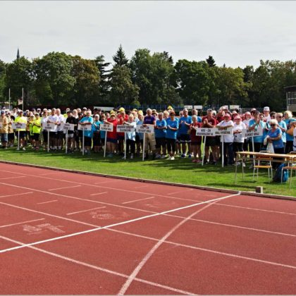 Internationale Sportspiele der Senioren in Olomouc