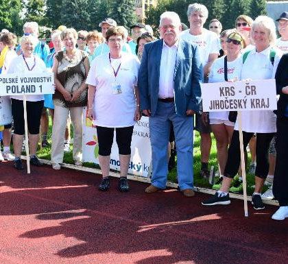 Mezinárodní sportovní hry seniorů České Budějovice